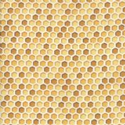 Moda - Bee Joyful - 6502 - Honeycomb in Gold & Tan - 19875 12 - Cotton Fabric